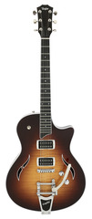 Taylor T3-B Flame Maple Top Bigsby Hollowbody Tobaccoburst