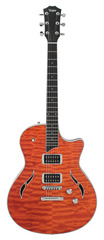 Taylor T3 Quilted Maple Top Orange