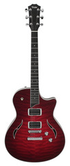 Taylor T3 NOS Quilted Maple Ruby Red Sunburst Electric