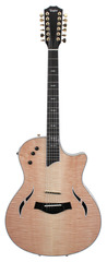 Taylor T5-C1 Custom 12 String Figured Maple Top Natural Electric Hollowbody