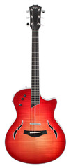 Taylor T5-S1 Flame Maple Top Electric Hollowbody Cherry Sunburst