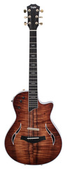 Pre-Owned Taylor T5z Custom Thinline Hollowbody Electric Figured Koa