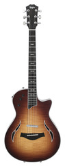 Pre-Owned Taylor T5z Pro 2013 Thinline Hollowbody Electric Tobacco Sunburst