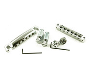 Tone Pros Tunamatic Bridge & Tailpiece Set Nickel
