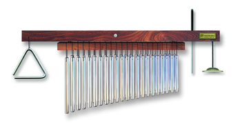 Treeworks 43 Think Bar Classic Chime Double Row with Triangle