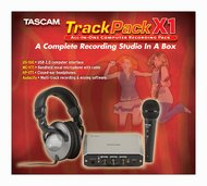 Tascam Track Pack X1 <BR>Recording Bundle