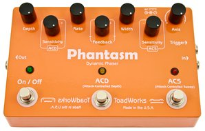 ToadWorks Phantasm Dynamic Phaser Pedal