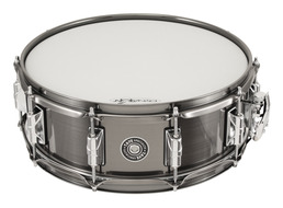 Taye 5x14 Brass Shell, Brushed Black Nickel Finish