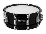 Taye Studio Maple 14 X 5 Snare With Wood Hoops In Piano Black