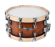 Taye Studio Maple 14 x 7 Snare With Wood Hoops in Java Burst