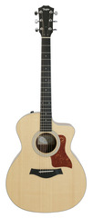 Pre-Owned Taylor 214CE Grand Auditorium Koa Acoustic Electric