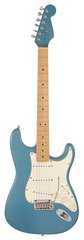Pre-Owned Fender 1995 Stratocaster Matching Headstock Lake Placid Blue