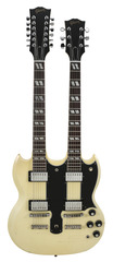 Pre-Owned Gibson Custom Shop Alex Lifeson Limited Edition 1275 Double Neck Aged