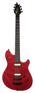 Pre-Owned EVH Wolfgang Stealth Hardtail 2-Tone Candy Apple Red Stripes