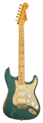 Pre-Owned Fender Custom Shop 57 Stratocaster Heavy Relic Sherwood Green