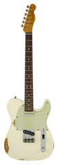Pre-Owned Fender Custom Shop 1963 Telecaster Custom Heavy Relic Arctic White