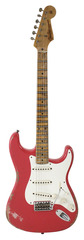 Pre-Owned Fender Custom Shop 1956 Stratocaster Heavy Relic Fiesta Red