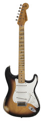 Pre-Owned Fender Custom Shop 1956 Heavy Relic Stratocaster Ash 2 Tone Sunburst