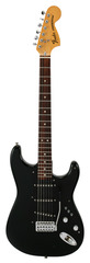 Pre-Owned Fender 1976 Stratocaster Black Schecter Electronics
