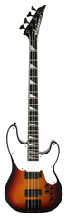 Pre-Owned Jackson Custom Shop 4 String Bass 3 Tone Sunburst Master Built Mike Shannon