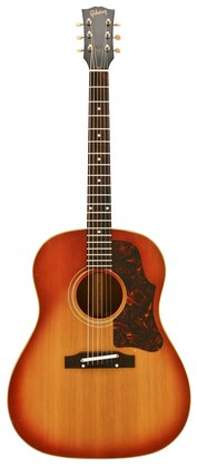 Gibson 1963 J 45 Flat Top Acoustic Sunburst Finish