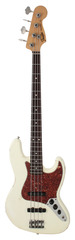 Pre-Owned Fender Custom Shop 1960 Jazz Bass Relic Vintage White
