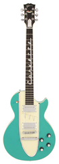 Pre-Owned Gibson 1995 Les Paul Corvette Cascade Green (s/n f)