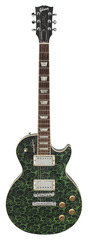 Les Paul Standard 1996 Tie Dye Green George St. Pierre