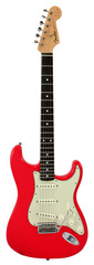 Pre-Owned Fender Mark Knopfler Signature Stratocaster Hot Rod Red