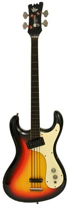 Mosrite 1960s Ventures Bass Sunburst