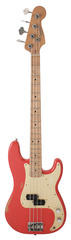 Pre-Owned Fender Road Worn 50s Percision Bass Fiesta Red