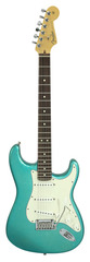 Pre-Owned Fender Teal Sparkle Stratocaster Namm 2001