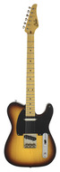 Pre-Owned Suhr 2011 Classic T 2 Tone Tobacco Sunburst Aged Finish