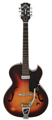 Guild Slim Jim T-100 1963 Sunburst