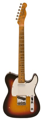 Fender 1966 Telecaster Sunburst Maple Cap Neck