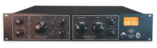 Universal Audio LA610 MKII Classic Tube Recording Channel