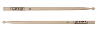 Vater Custom Rainbow Drum Sticks 5B Size Wood Tip