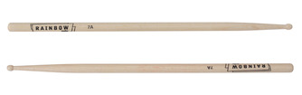 Vater Custom Rainbow Drum Sticks Manhattan 7A Size Wood Tip