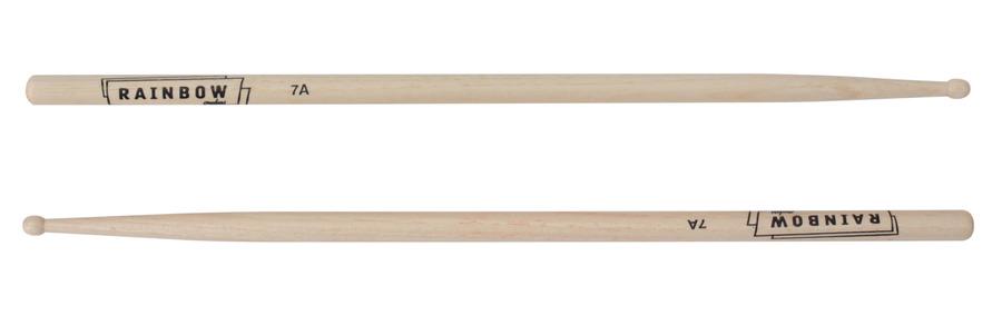 vater custom rainbow drum sticks manhattan 7a size wood tip rainbow guitars. Black Bedroom Furniture Sets. Home Design Ideas