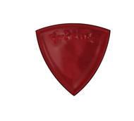 V Pick Medium Pointed Tip Ruby Red</P>