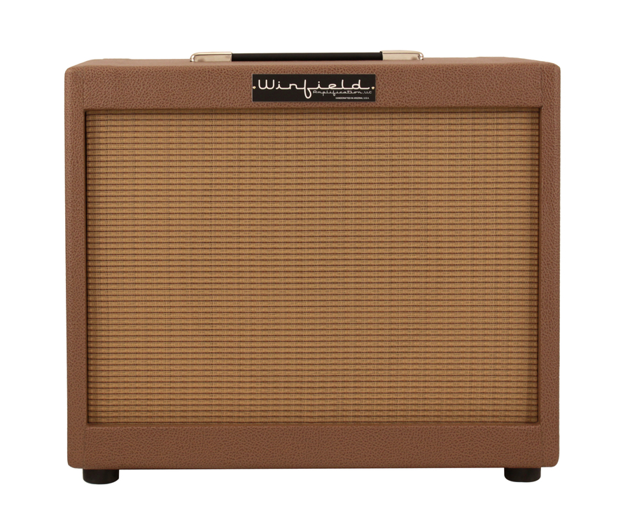Winfield 1x12 Cabinet Cocoa Amplifier Rainbow Guitars