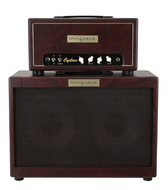 Winfield Cyclone Amplifier Head and 2x10 Cabinet Burgundy