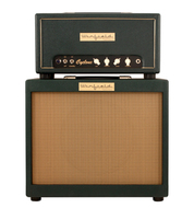 Winfield Cyclone Amplifier Head and 1X12 Cabinet Green