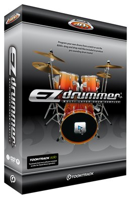 Toontracks EZdrummer<BR>Drum Software