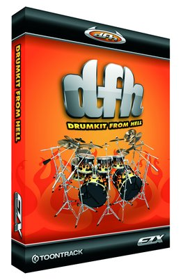 Toontracks Drumkit From Hell<BR>EZX Epansion Kit