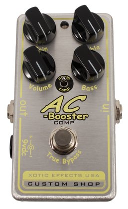 Xotic AC Booster Comp Pedal