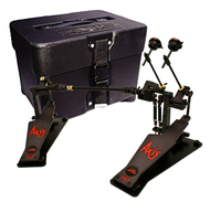 Axis AL2CB Double Bass Drum Pedal Includes APC Pedal Case