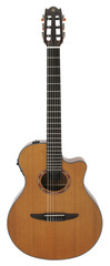 Yamaha NTX700C Thinline Nylon Cedar Top Classical Electric