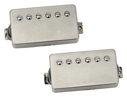 Skatterbrane Earthbrane PAF Humbucker Pickup Set - Raw Nickel