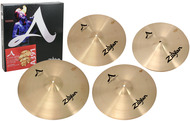 "Zildjian A A391 Cymbal Pack Box Set With 21"" Sweet Ride"